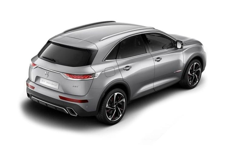 DS Automobiles DS 7 Crossback SUV 5Dr 4x4 1.6 E-TENSE PHEV 13.2kWh 300PS Prestige 5Dr EAT8 [Start Stop] back view
