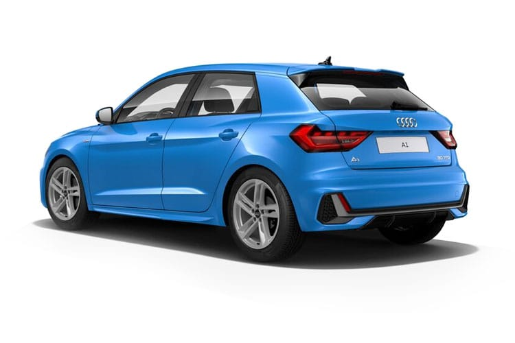 Audi A1 25 Sportback 5Dr 1.0 TFSI 95PS S line 5Dr S Tronic [Start Stop] back view