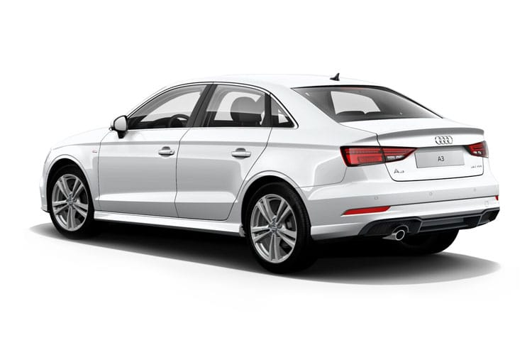 Audi A3 30 Saloon 4Dr 1.0 TFSI 110PS S line 4Dr Manual [Start Stop] [Comfort Sound] back view