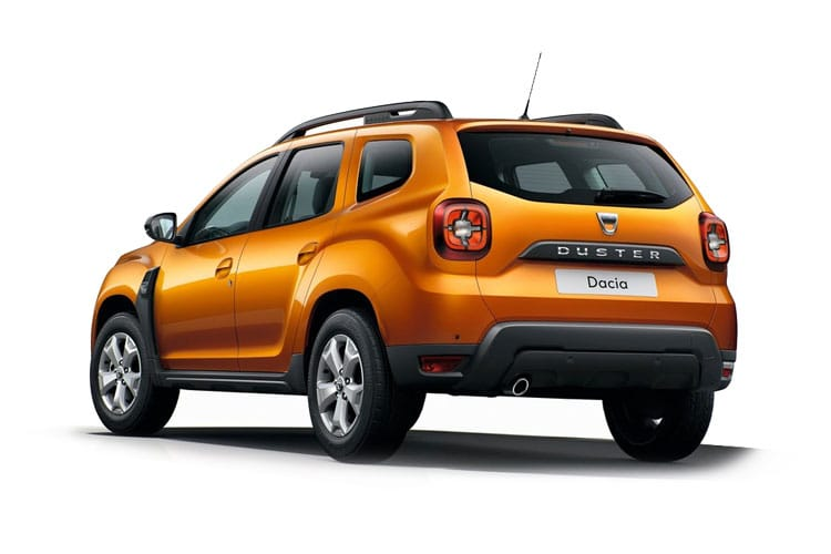 Dacia Duster SUV 2wd 1.0 TCe 100PS Comfort 5Dr Manual [Start Stop] back view