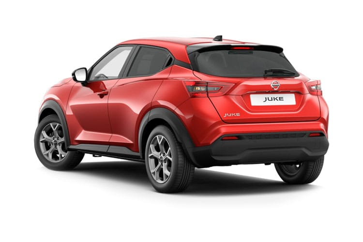 Nissan Juke SUV 1.0 DIG-T 114PS Tekna 5Dr DCT Auto [Start Stop] back view