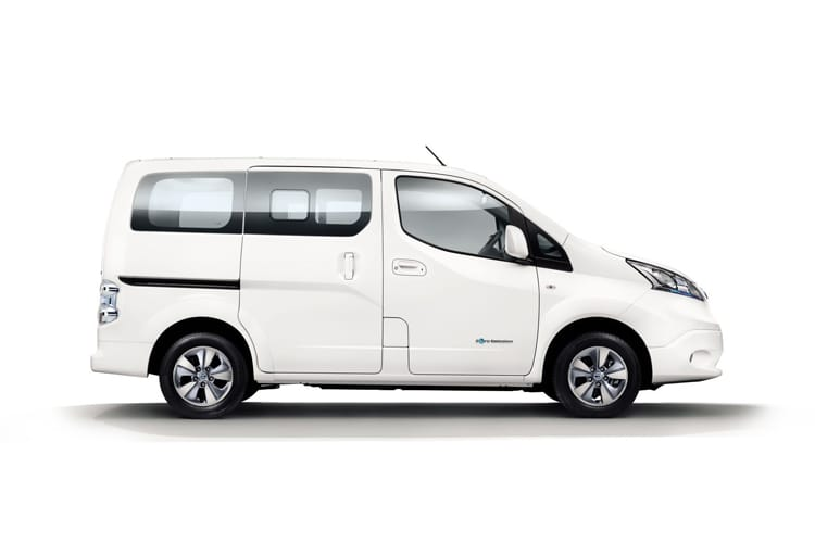 Nissan NV200 e-NV200 Combi M1 Elec 40kWh 80KW FWD 109PS Visia 50kW QC Combi Auto [5Seat] detail view