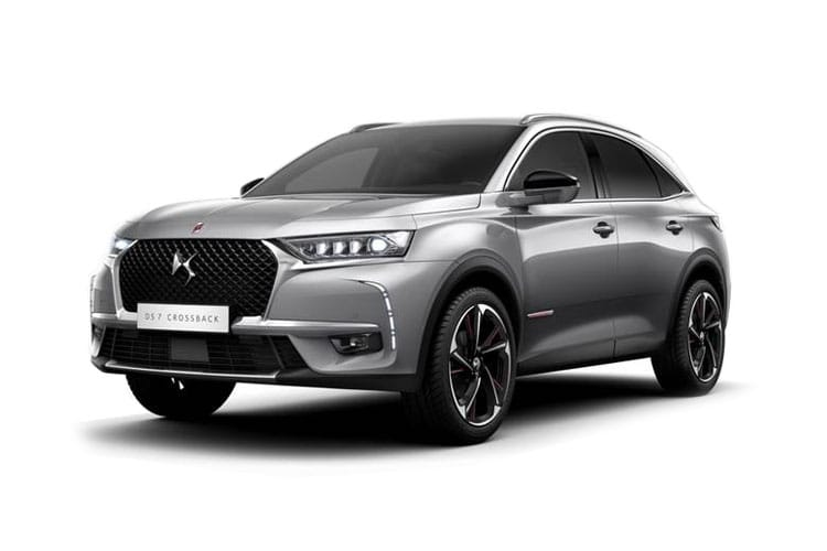 DS Automobiles DS 7 Crossback SUV 5Dr 4x4 1.6 E-TENSE PHEV 13.2kWh 300PS Prestige 5Dr EAT8 [Start Stop] front view