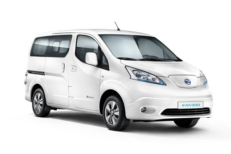 Nissan NV200 e-NV200 Combi M1 Elec 40kWh 80KW FWD 109PS Visia 50kW QC Combi Auto [5Seat] front view