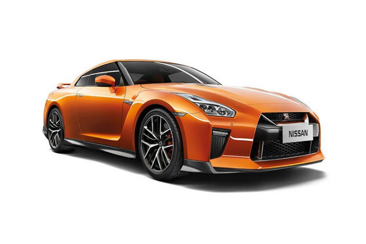Nissan GT-R Coupe 3.8 V6 570PS Track Edition 2Dr Auto [Engineered by NISMO] front view