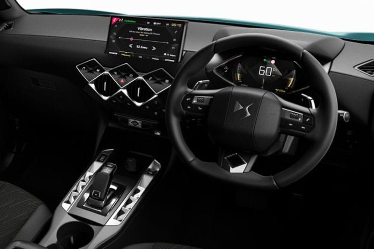 DS Automobiles DS 3 Crossback 5Dr 1.5 BlueHDi 100PS Elegance 5Dr Manual [Start Stop] inside view