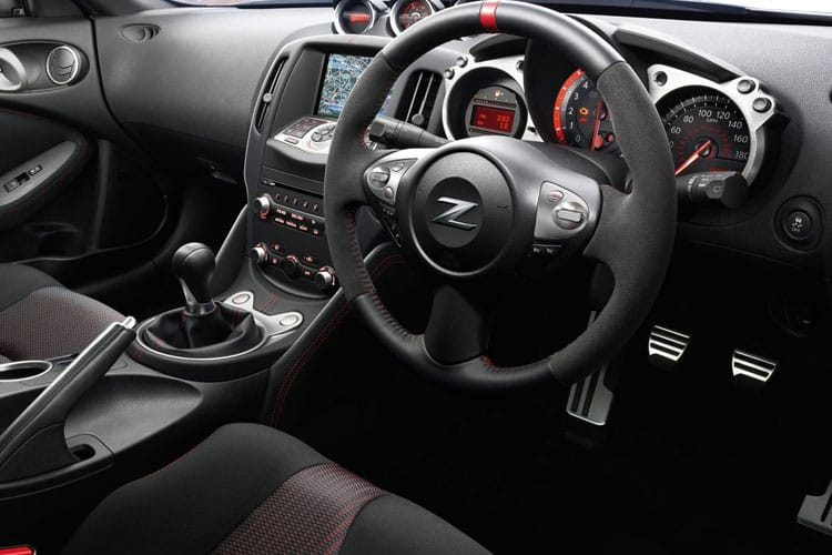 Nissan 370Z Coupe 3Dr 3.7 V6 328PS GT 3Dr Manual [50th Anniversary] inside view