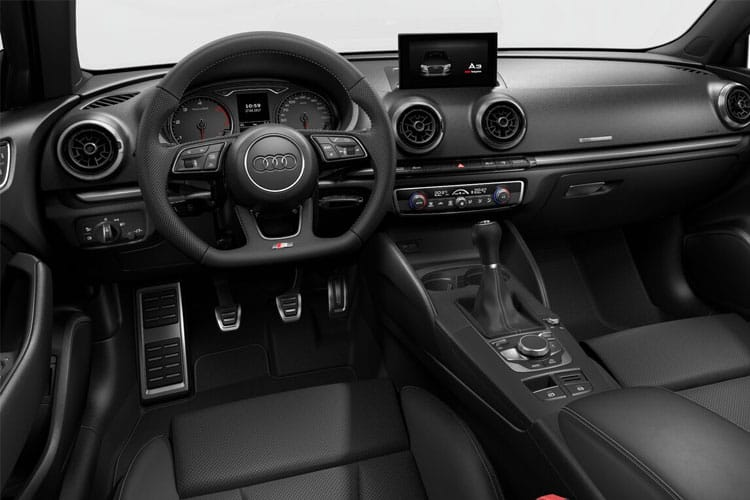 Audi A3 30 Saloon 4Dr 1.0 TFSI 110PS S line 4Dr Manual [Start Stop] [Comfort Sound] inside view