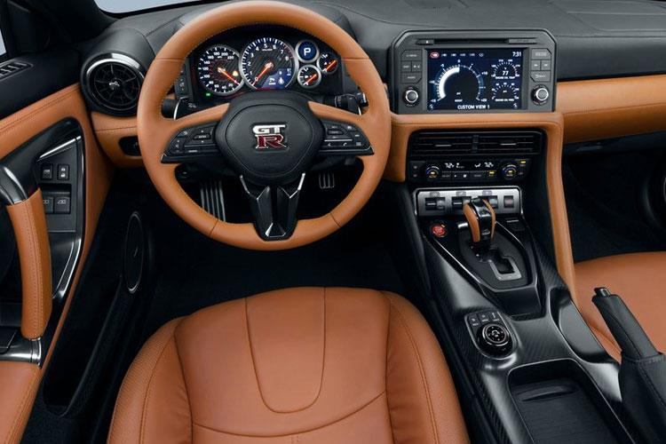 Nissan GT-R Coupe 3.8 V6 570PS Track Edition 2Dr Auto [Engineered by NISMO] inside view