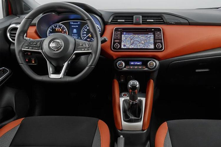 Nissan Micra Hatch 5Dr 1.0 IG-T 92PS N-Sport 5Dr Manual [Start Stop] inside view