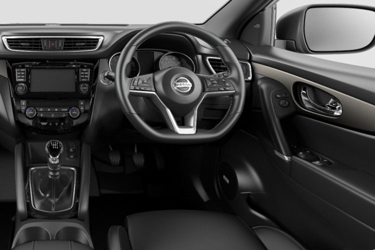 Nissan Qashqai SUV 2wd 1.3 DIG-T 160PS N-Connecta 5Dr Manual [Start Stop] [Pan Roof Drive Assist] inside view